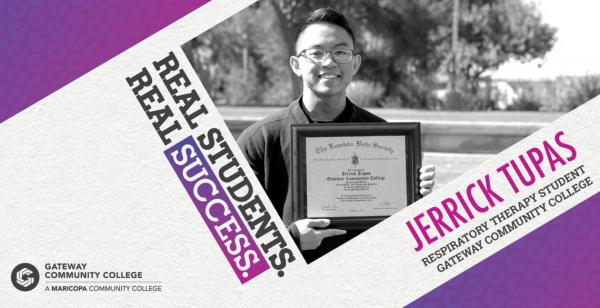 Jerrick Tupas Student Success